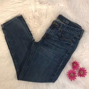 J.Crew Cropped Matchsticks Jeans Size 28